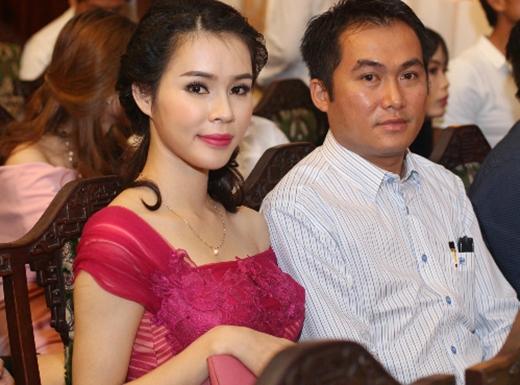 Vợ chồng anh Trường chị Thương trong một sự kiện dành cho các doanh nhân. (Ảnh: Internet)