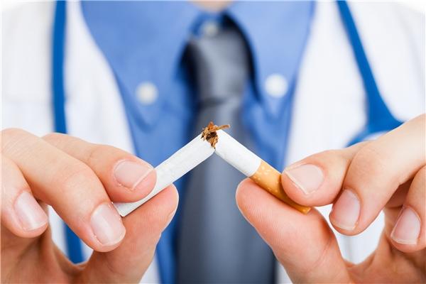 Tuyệt đối nói không với thuốc lá. (Ảnh: Internet)