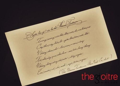 9X điển trai, sành điệu viết chữ đẹp như in