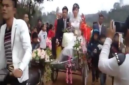 Những màn rước dâu