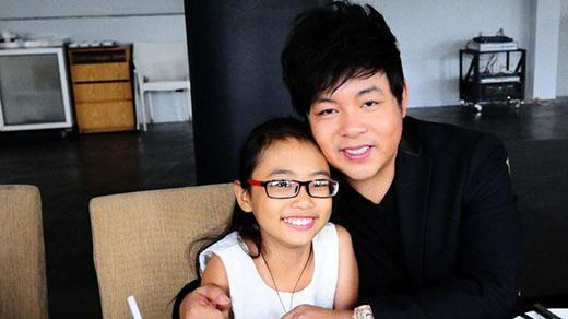 Quang Lê khẳng định rất thương yêu con gái nên muốn cô bé tự do làm những điều mình yêu thích. (Ảnh: Internet) - Tin sao Viet - Tin tuc sao Viet - Scandal sao Viet - Tin tuc cua Sao - Tin cua Sao