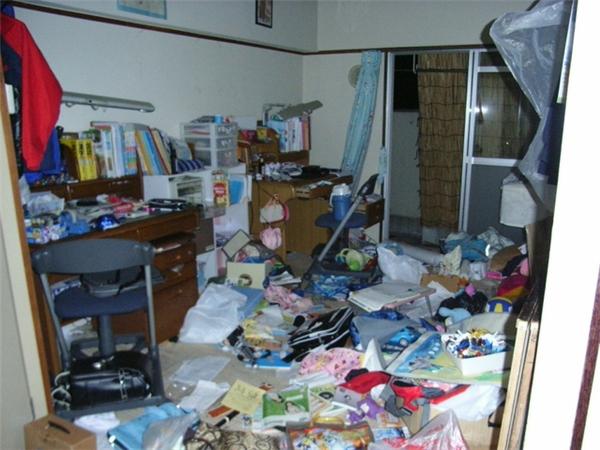 Sau nhiều năm sống trong đống lộn xộn, tháng 7/2011, một ông bố hai con đã lập blog và đăng hình căn nhà ngập tràn rác rưởi của mình lên để tự khiến mình xấu hổ mà đi dọn dẹp.