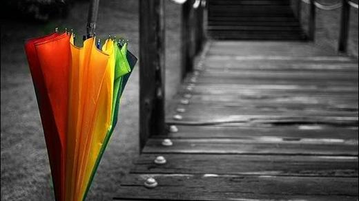 Đừng bao giờ giũ nước mưa khi đang mở dù, cho dù ở bất kìđâu. Tốt nhất bạn nên gập dù lại cho nước mưa tự chảy xuống, hoặc treo lên những nơi dành riêng cho nó. (Ảnh: Internet)