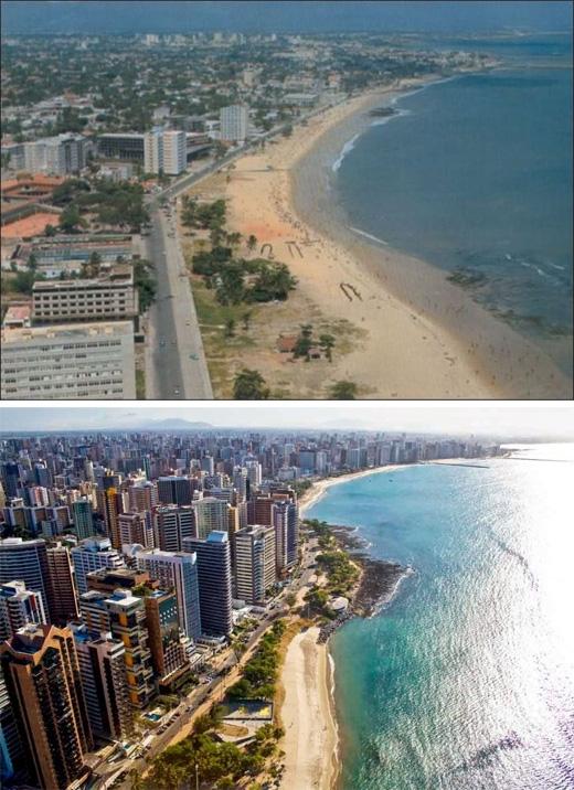 Fortaleza, Brazil (1975 - 2011)(Ảnh: Bright Side)