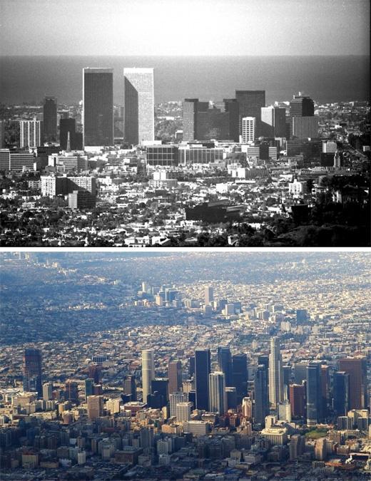 Los Angeles, California (1970 -2014)(Ảnh: Bright Side)