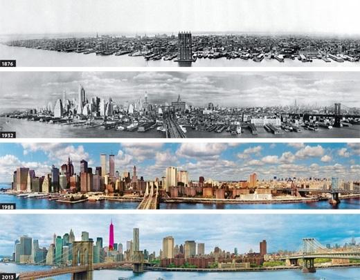 New York(1876 - 2013)(Ảnh: Bright Side)