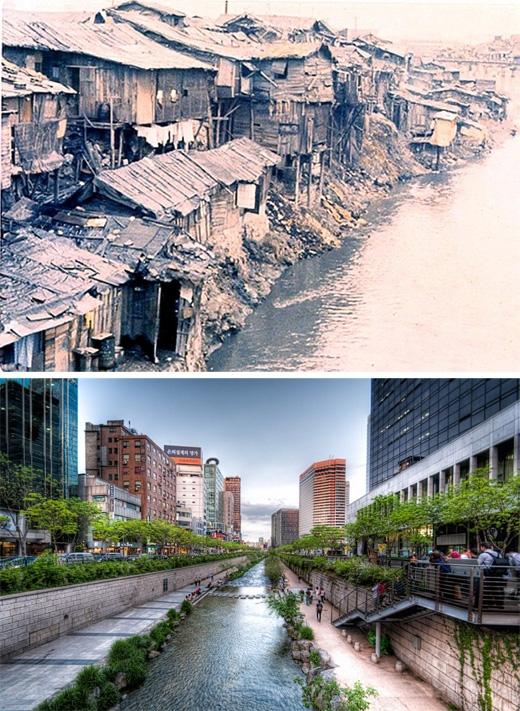 Seoul, Hàn Quốc(1961 - 2013)(Ảnh: Bright Side)