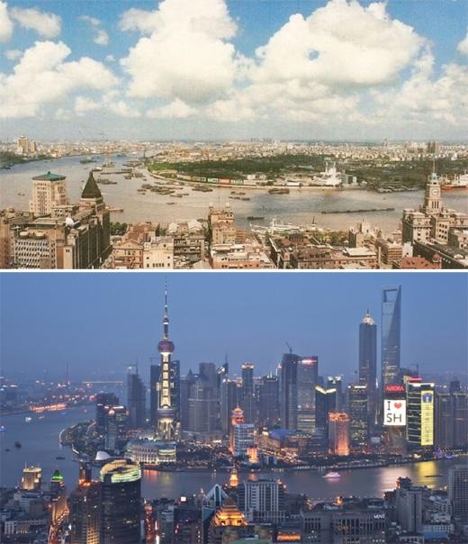 Thượng Hải (1990 - 2010)(Ảnh: Bright Side)