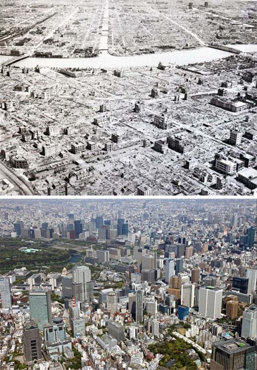 Tokyo, Nhật Bản(1945 - 2011)(Ảnh: Bright Side)