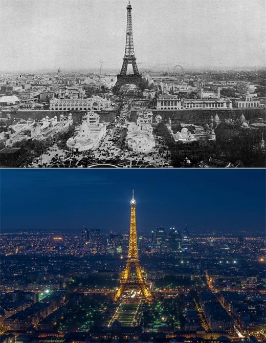 Paris, Pháp (1900 - 2014)(Ảnh: Bright Side)