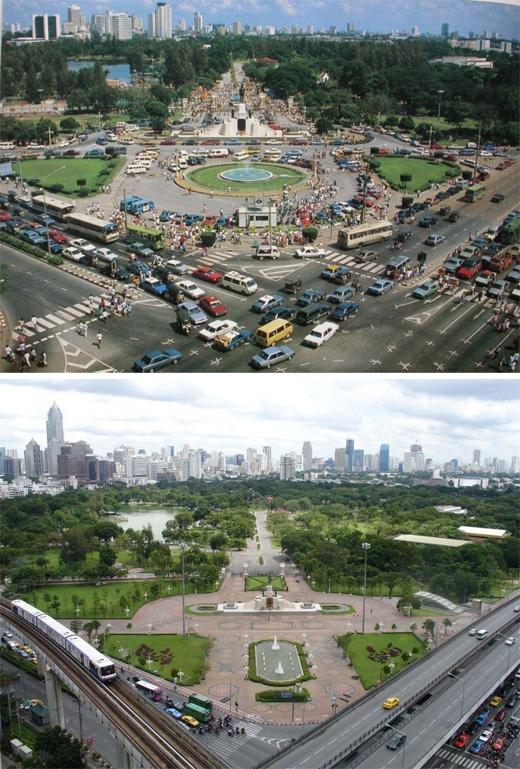 Bangkok, Thái Lan(1988 - 2007)(Ảnh: Bright Side)