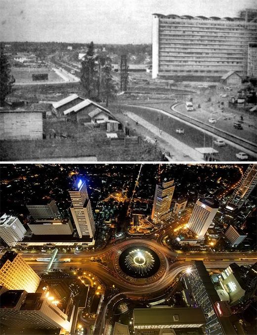 Jakarta, Indonesia (1960 - 2010)(Ảnh: Bright Side)