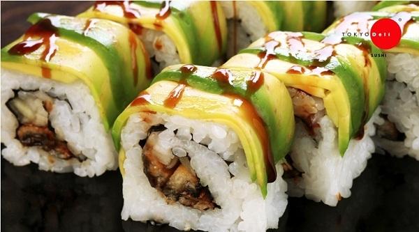 Sushi của nhà hàng được đánh giá tươi và ngon. (Ảnh: Internet)