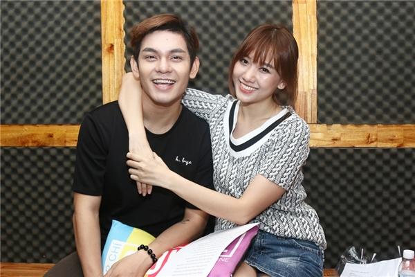 Sơn Ngọc Minh và Hari Won ăn ý phối hợp cùng nhau trong sản phẩm âm nhạc mới. - Tin sao Viet - Tin tuc sao Viet - Scandal sao Viet - Tin tuc cua Sao - Tin cua Sao