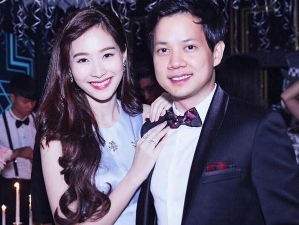 Bạn trai đúng chuẩn soái ca của Hoa hậu Thu Thảo