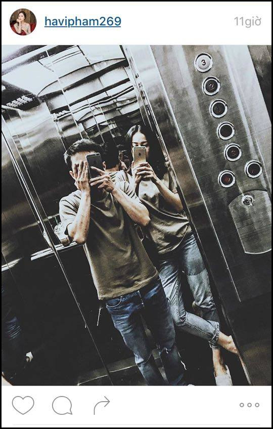 Hình ảnh Cường Đô La mặc đồ đôi vô tư selfie cùng người yêu xinh đẹp - Tin sao Viet - Tin tuc sao Viet - Scandal sao Viet - Tin tuc cua Sao - Tin cua Sao