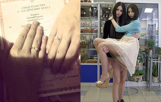 Cuối cùng cặp đôi cũng có thể tiến hành hôn lễ trót lọt. Chú rể đang hạnh phúc bế cô dâu trên tay. (Ảnh: Internet)