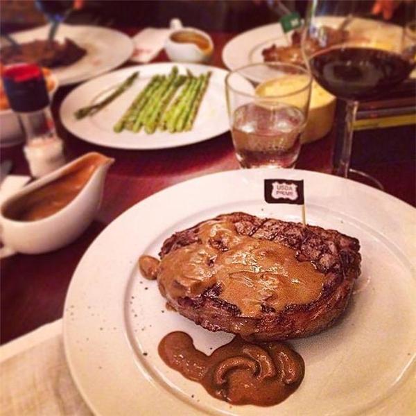 "Món ăn tại ""El Gaucho"". (Ảnh: Internet)"