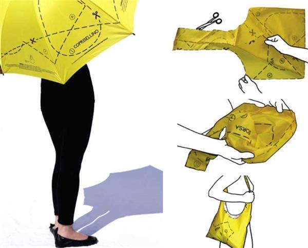 Cách cắt may túi xách từ dù (Ảnh: Internet)