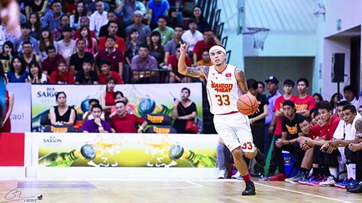Việt Arnold đang là cầu thủ kiến tạo tốt nhất của Saigon Heat tại mùa giải ABL năm nay.