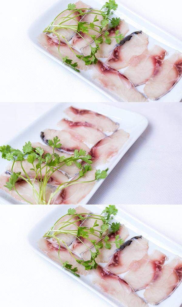 """Cá vượt tươi ngon. (Ảnh: Internet)  Một món ăn khác tại """"Lẩu Cốc"""". (Ảnh: Internet)  Mỗi thực khách sẽ córiêng cho mình một nồi lẩu. (Ảnh: Internet)"""