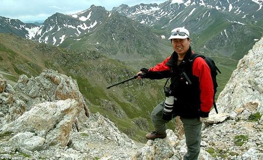 Nhà khoa học Li Weidong là người phát hiện và chụp được những tấm ảnh hiếm hoi về chúng. (Ảnh: Li Weidong)