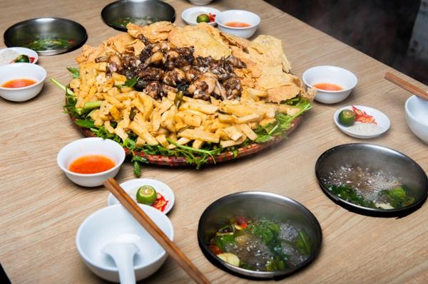 Có rất nhiều quán ăn ngon mà bạn có thể đến thưởng thức. (Ảnh: Internet)