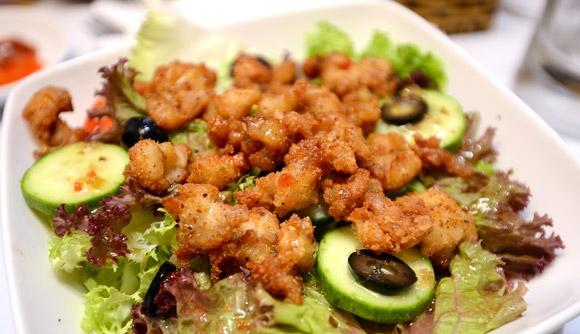Các món ăn của The Cajun Cua. (Ảnh: Internet)