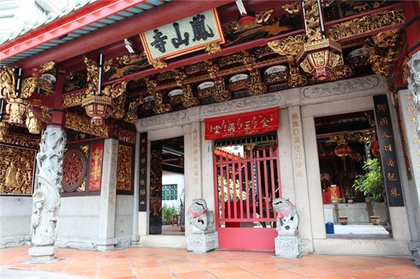 Chùa Phụng Sơn Trì (Hong San See) trên đường Mohamed Sultan.(Ảnh: Internet)