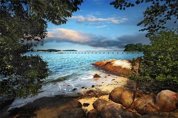 Nằm ở bờ đông của Pulau Ubin, lại là một điểm trốn chạy khỏi thành phố hiện đại, Chek Jawa sẽ mang đến cảnh quan thiên nhiên tuyệt đẹp không kém gì những điểm du lịch nổi tiếng.(Ảnh: Internet)