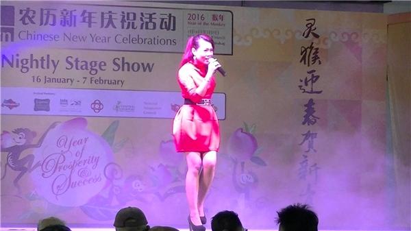 Những màn trình diễn truyền thống, ca khúc lễ hội, nhảy múa bởi các nghệ sĩ ở Singapore và Trung Quốc sẽ làm bạn chưa bao giờ thấy Tết đến gần hơn.(Ảnh: Internet)