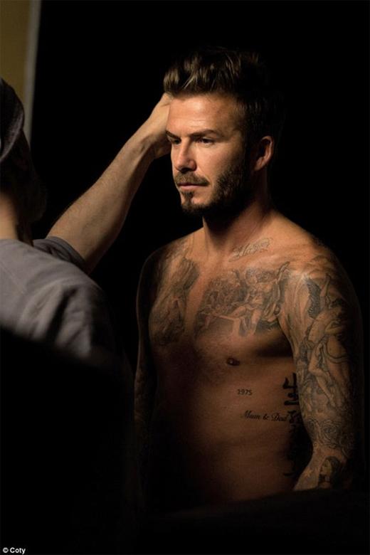 David Beckham quyến rũ trong quảng cáo nước hoa