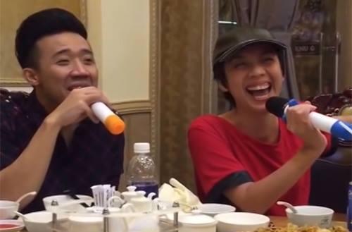 Nghe Trấn Thành và Thu Trang trổ tài song ca cực ngọt