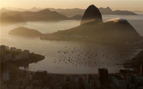 Thành phố Rio de Janeiro, Brazil.Ảnh được chụp bởi Sergio Moraes.(Ảnh: Internet)