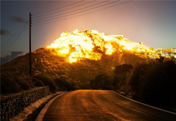 Vụ nổ của Corey Arnold(Ảnh: Internet)