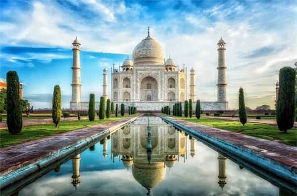 Đến Taj Mahal trên tạp chí. (Ảnh: Marvin Bartels)