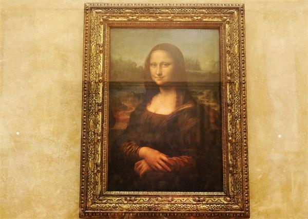 Bức tranh nàng Monalisa nổi tiếng thế giới. (Ảnh: Pascal Le Segretain)