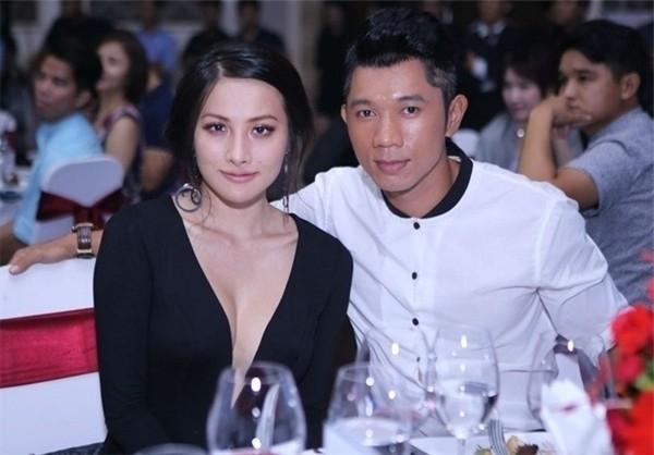 Trương Nhi và bạn trai tình tứ tại sự kiện giữa năm 2015. Ảnh: NVCC - Tin sao Viet - Tin tuc sao Viet - Scandal sao Viet - Tin tuc cua Sao - Tin cua Sao