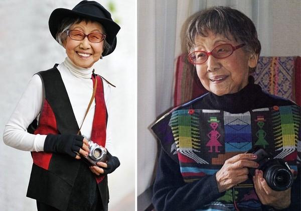 Nhiếp ảnh gia 104 tuổiTsuneko Sasamoto