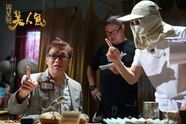 Hé lộ hình ảnh hậu trường Mỹ Nhân Ngư của vua hài Châu Tinh Trì