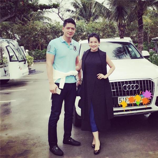 Hình ảnh hạnh phúc của hai vợ chồng Bình Minh - Anh Thơ. - Tin sao Viet - Tin tuc sao Viet - Scandal sao Viet - Tin tuc cua Sao - Tin cua Sao