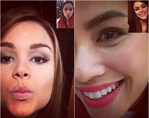"""Hai mỹ nhân cực kì thân thiết sau khi """"chinh chiến"""" tại Miss Universe 2015 - Tin sao Viet - Tin tuc sao Viet - Scandal sao Viet - Tin tuc cua Sao - Tin cua Sao"""