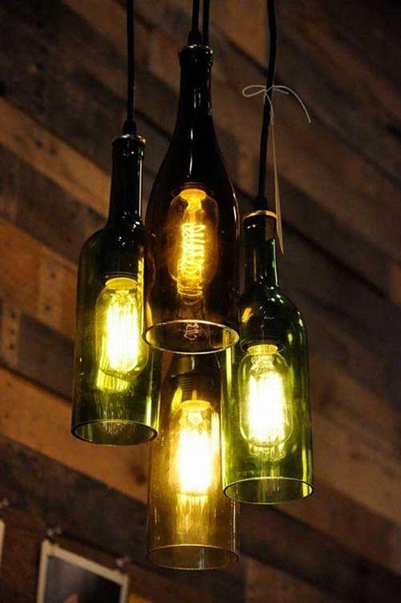 Bộ đèn chùm ấn tượng, lạ mắt. (Ảnh: Internet)