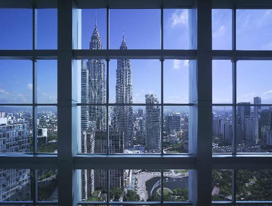 Kuala Lumpur tuyệt đẹp từ trên cao.(Ảnh: Internet)