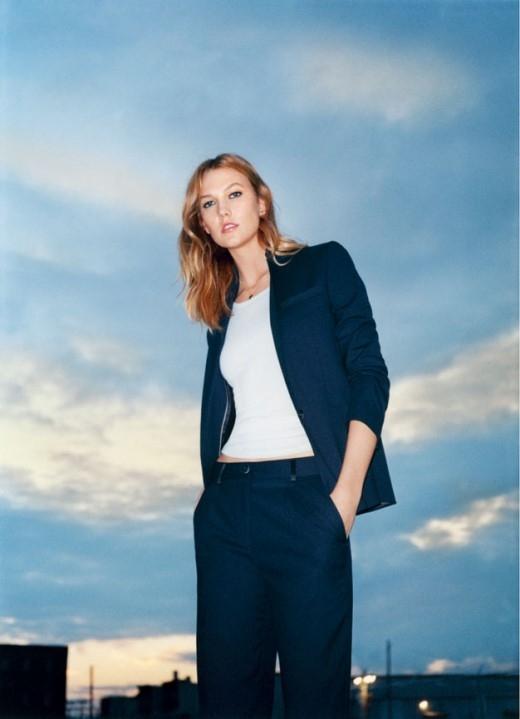 Siêu mẫu Karlie Kloss giới thiệu xu hướng thời trang xuân hè 2016