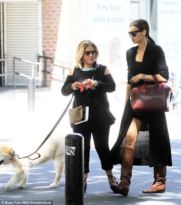 Mẹ của Bradley và Irina không thể hòa hợp.