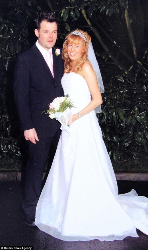 Họ gặp nhau vào năm 2005, kết hôn trong vòng 1 năm sau đó. (Ảnh: Daily Mail)