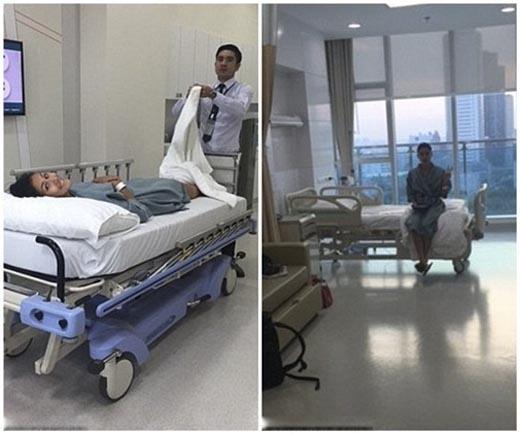 Trong suốt 24 giờ phẫu thuật chồng chưa cưới của Zahra đã luôn ở bên cạnh giường bệnh để ủng hộ tinh thần cho cô. (Ảnh: Internet)