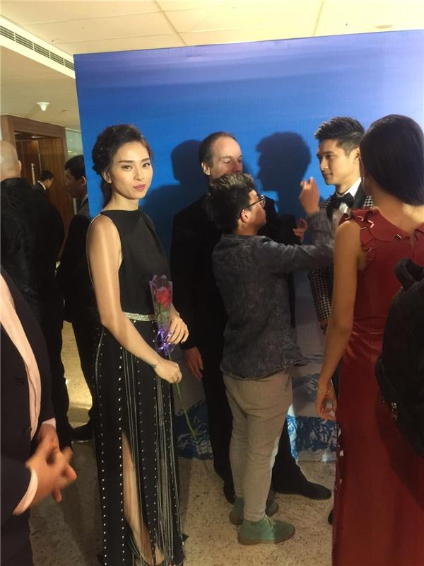 Nữ diễn viên đã có cuộc trò chuyện cùng Chung Tử Đơn, Dương Tử Quỳnh, Natasha Liu Bordizzo và Harry Shum Jr. - Tin sao Viet - Tin tuc sao Viet - Scandal sao Viet - Tin tuc cua Sao - Tin cua Sao