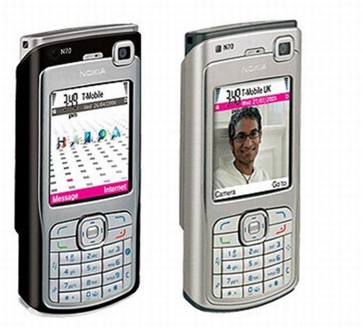 Chắc hẳn nhiều trong số chúng ta đã từng sở hữu thiết bị này: Nokia N70. Với cấu hình mạnh mẽ: vi xử lí TI OMAP 220 MHz, chạy trên nền tảng Series 60 UI... N70 được xem là thiết bị hỗ trợ cá nhân không thể thiếu thời bấy giờ. (Theo: Internet)